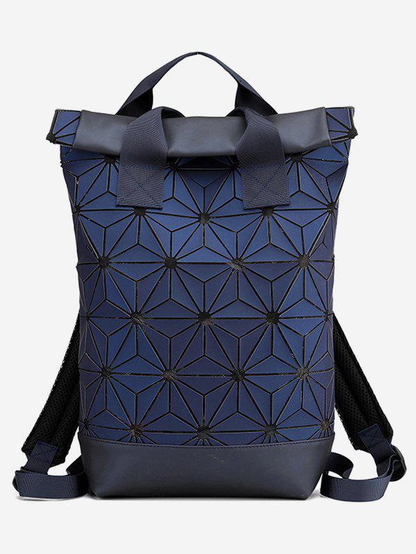 Outfits Geometric Floral Pattern Backpack
