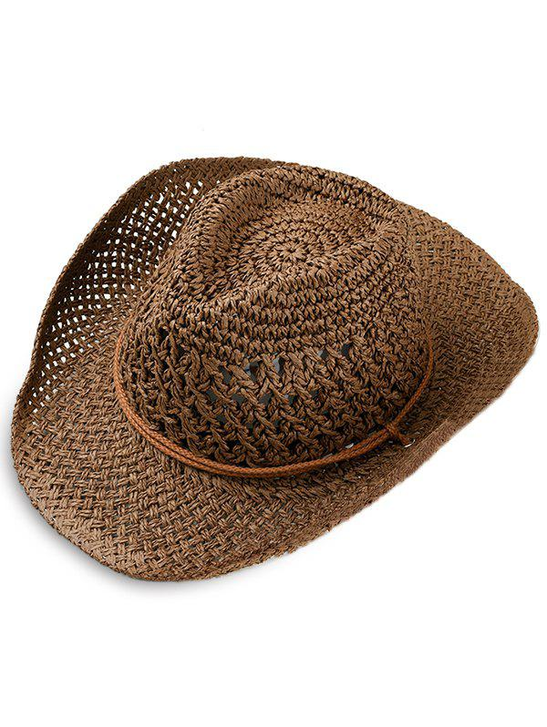 Simple Style Straw Hat
