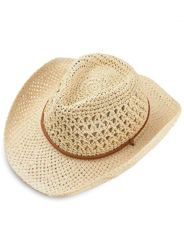 Chic Simple Style Straw Hat