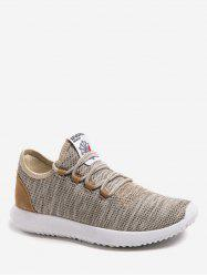 Knitted Low Top Running Sneakers -