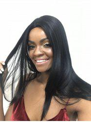 Synthetic Middle Part Capless Long Straight Wig -