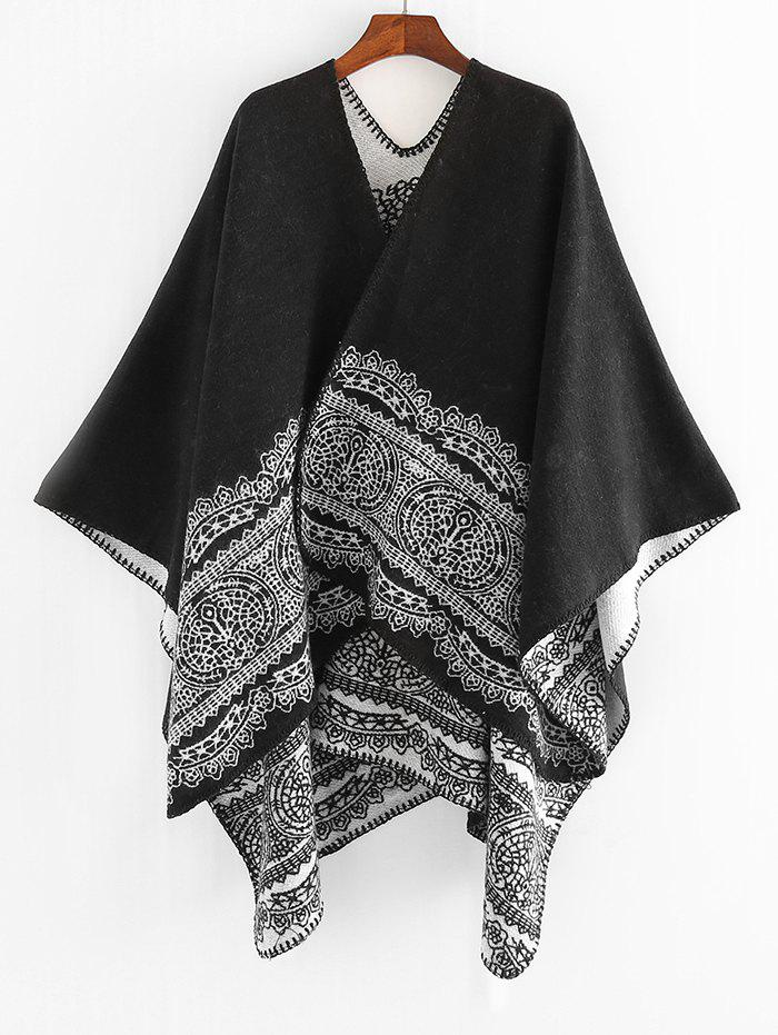 Outfit Printed Decoration Winter Shawl Scarf