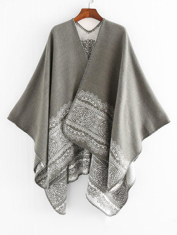 Online Printed Decoration Winter Shawl Scarf