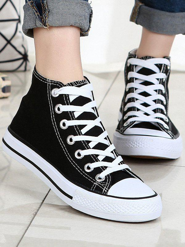 Latest Lace Up Canvas Sneakers