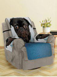Dressed Dog Pattern Couch Cover -