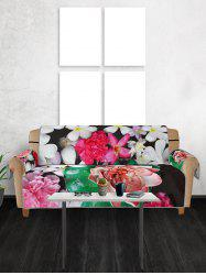 Valentines Day Flowers Pattern Couch Cover -