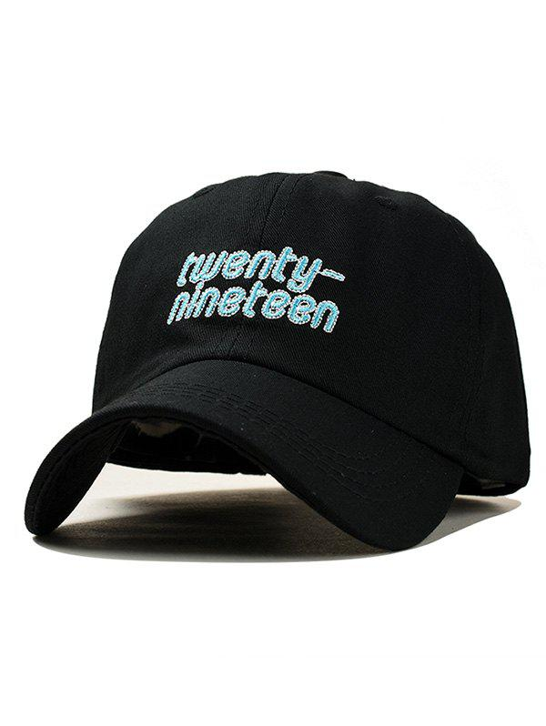 76771a98e90 Outfit Embroidery Letter Number Baseball Cap Trucker Hat