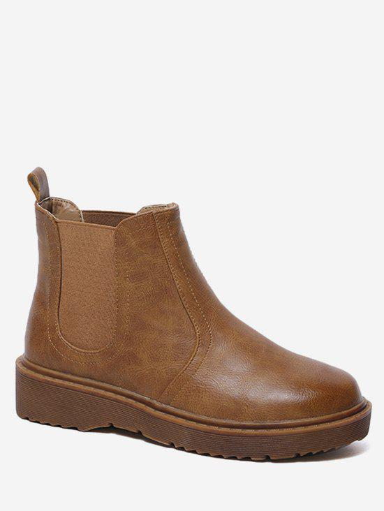 Online PU Leather Chelsea Boots