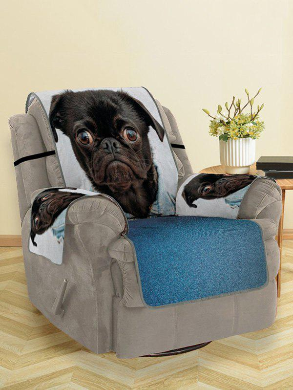 Best Dressed Dog Pattern Couch Cover