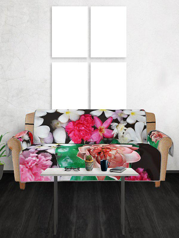 Outfit Valentines Day Flowers Pattern Couch Cover
