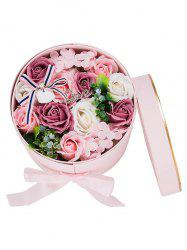 Valentines Day Gift Soap Flowers In A Box -