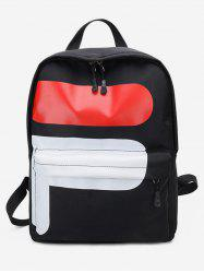 Outdoors Nylon Student Backpack -