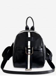 Leather Small Travel Backpack -