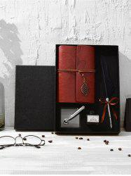 Feather Quill Pen Notebook and Ink In A Box -