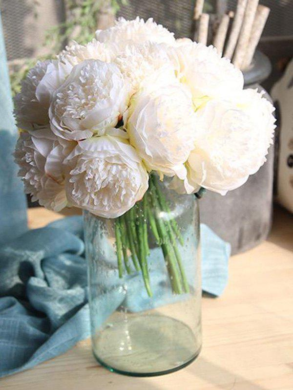 Outfit 5 Pcs Home Decoration Artificial Peony Flowers