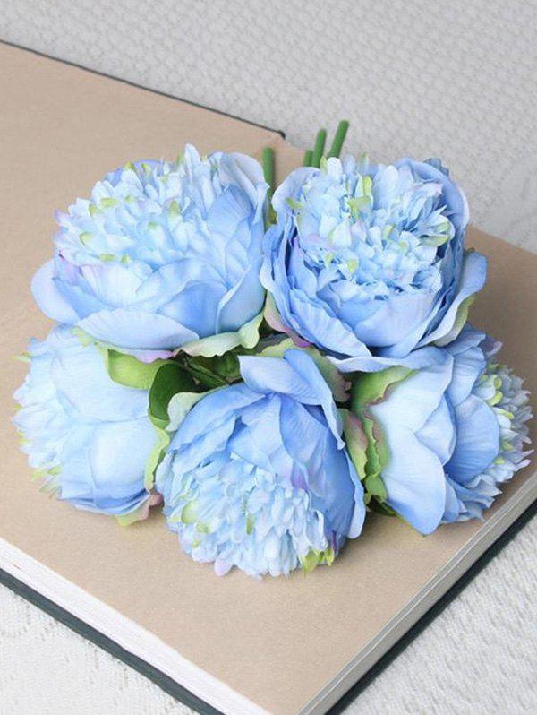 Latest 5 Pcs Home Decoration Artificial Peony Flowers