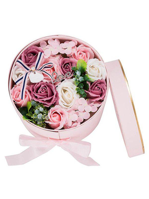 Store Valentines Day Gift Soap Flowers In A Box