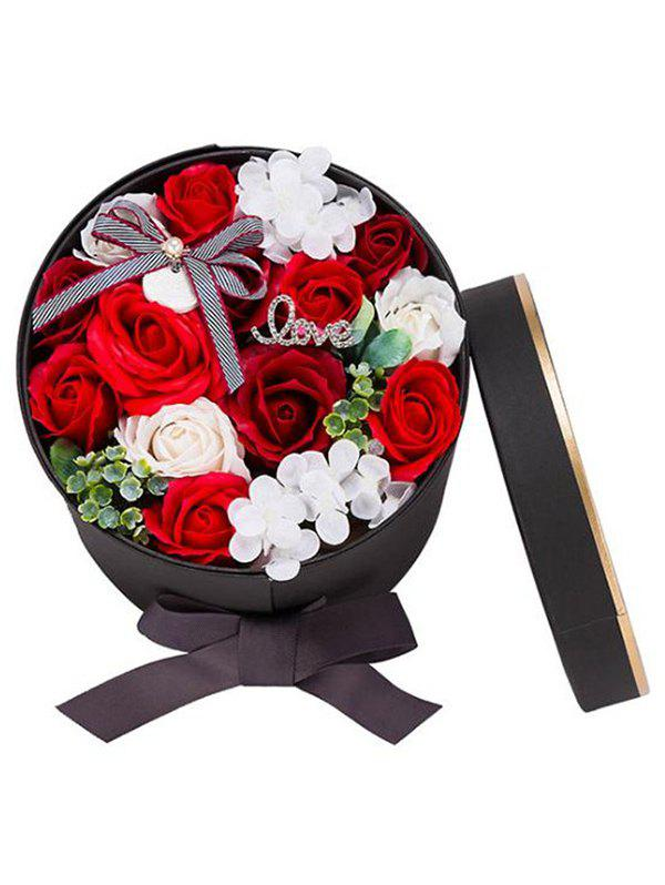 Buy Valentines Day Gift Soap Flowers In A Box