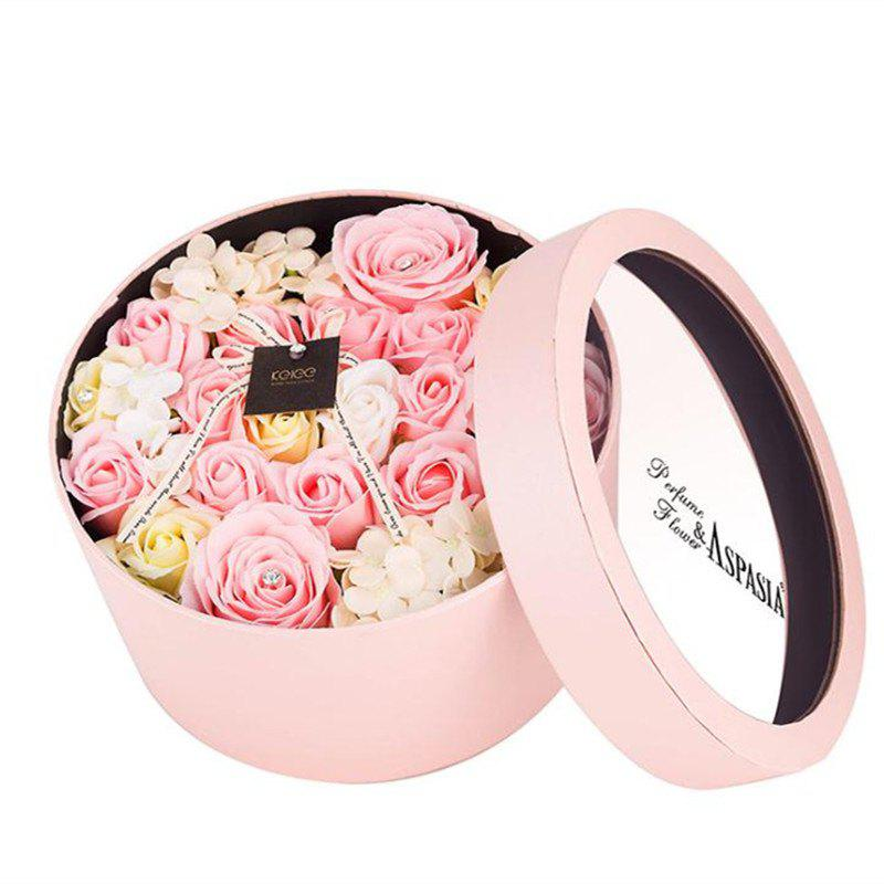 Online 22 Pcs Valentines Day Gift Soap Rose Flowers In A Box