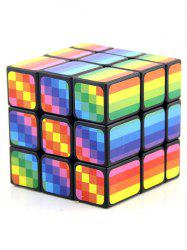 3x3x3 Rainbow Pattern Magic Square -