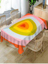 Geometric Print Decorative Waterproof Table Cloth -