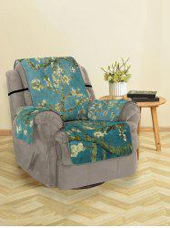 Flower Tree Print Couch Cover -
