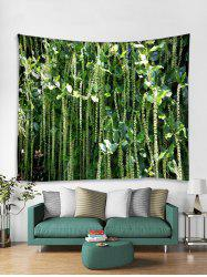 3D Plant Printed Tapestry Art Decoration -