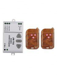 2 Pcs Universal Wireless Remote Switch Control and Relay Receiver Module -