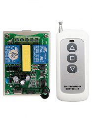 Wireless Remote Control and Relay Receiver Module -