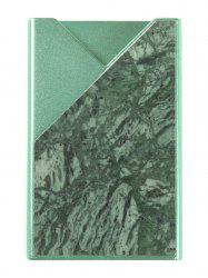 Business Marble Pattern Hard Card Case -