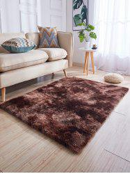 Faux Fur Solid Water Absorption Area Rug -