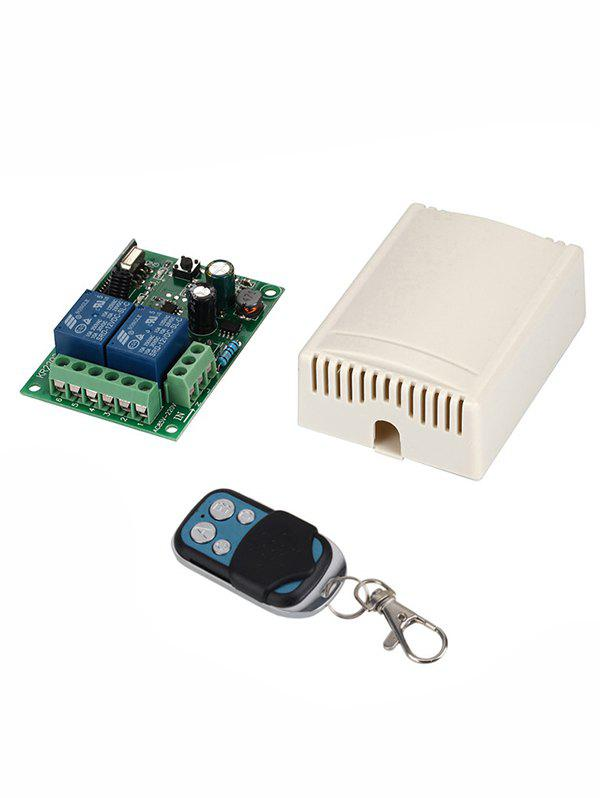 Sale Universal Wireless Remote Control Receiver Switch with RF 4 Button Remote Control