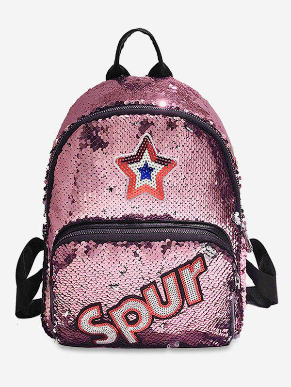 Online Sequined Star Pattern Multifunction Backpack
