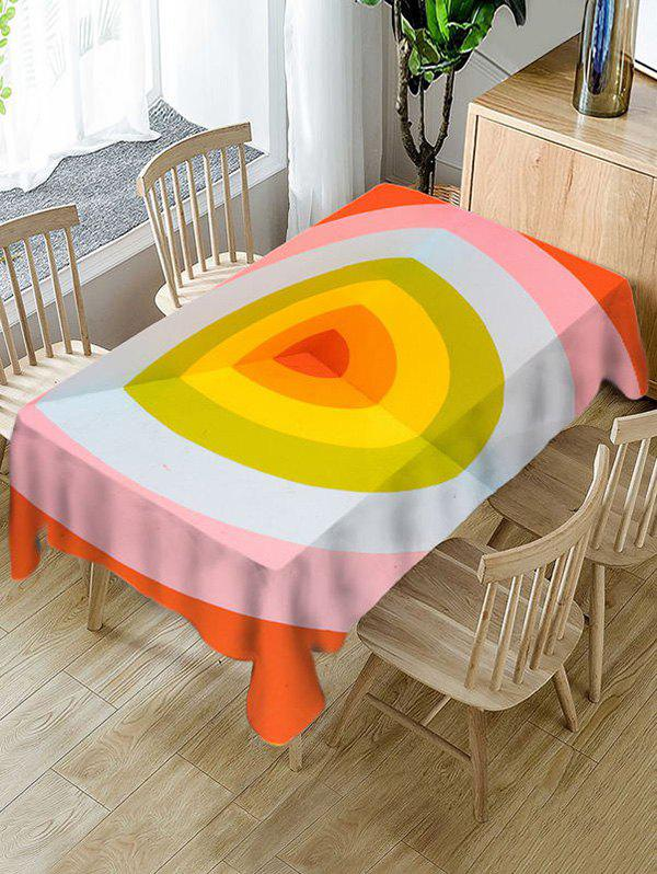 Discount Geometric Print Decorative Waterproof Table Cloth