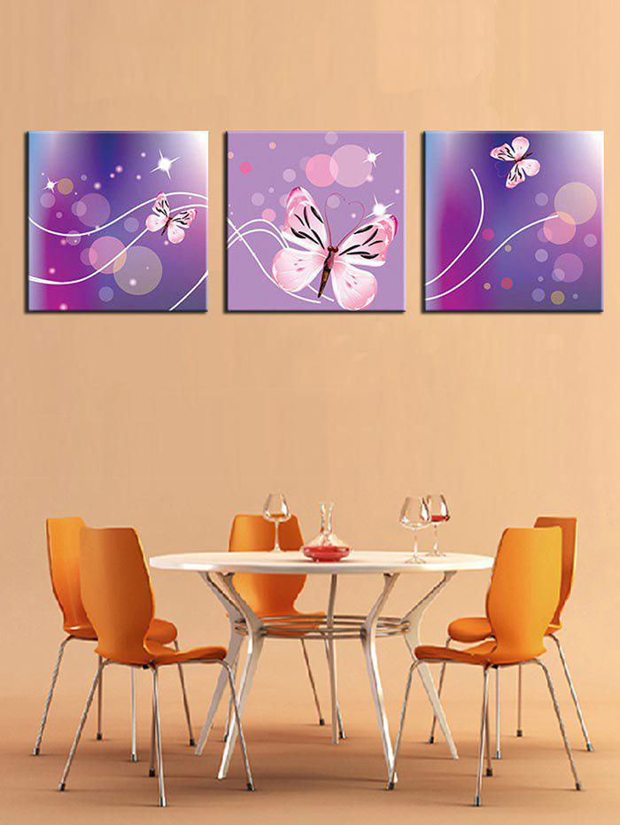 Discount Dreamy Butterflies Print Canvas Paintings Wall Art