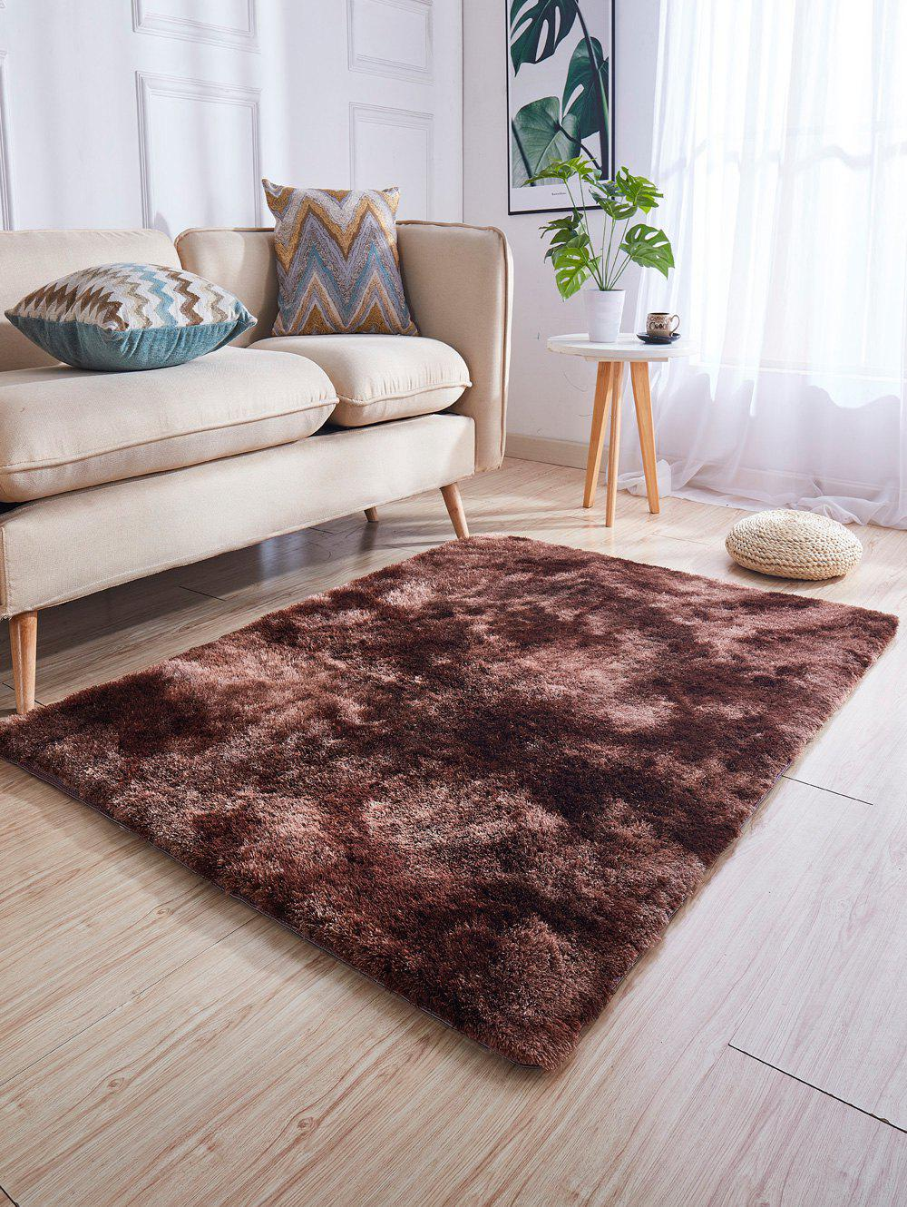 Outfit Faux Fur Solid Water Absorption Area Rug