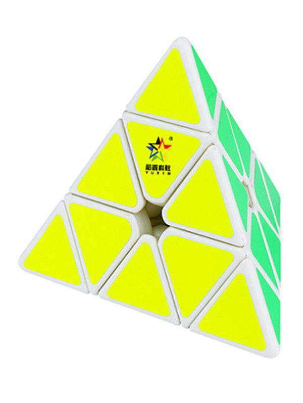 Latest Puzzle Toy Magnetic Pyramid Magic Cube