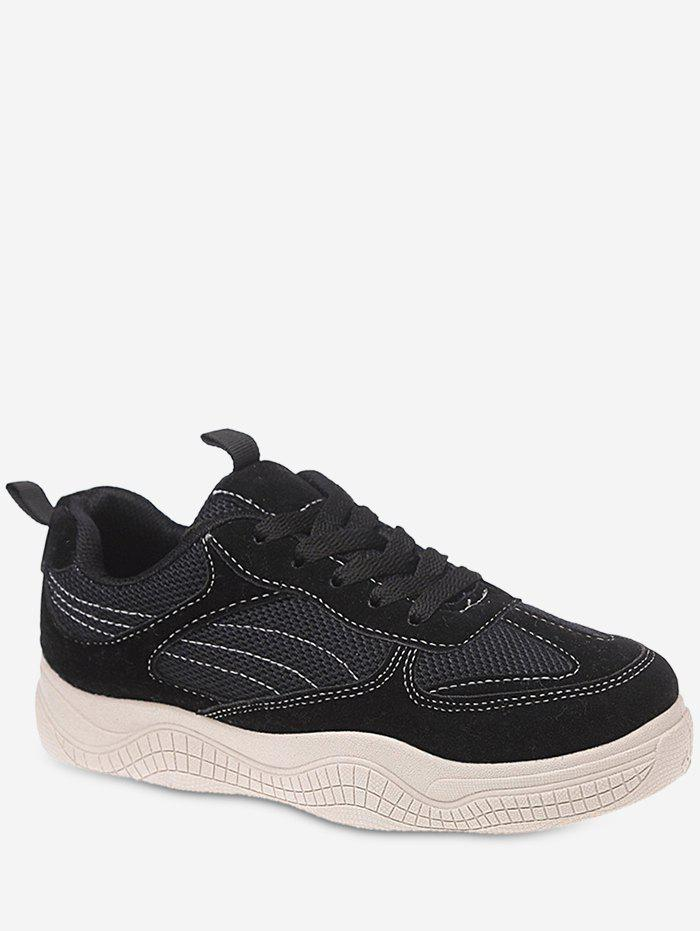 Discount Breathable Net Patchwork Casual Shoes