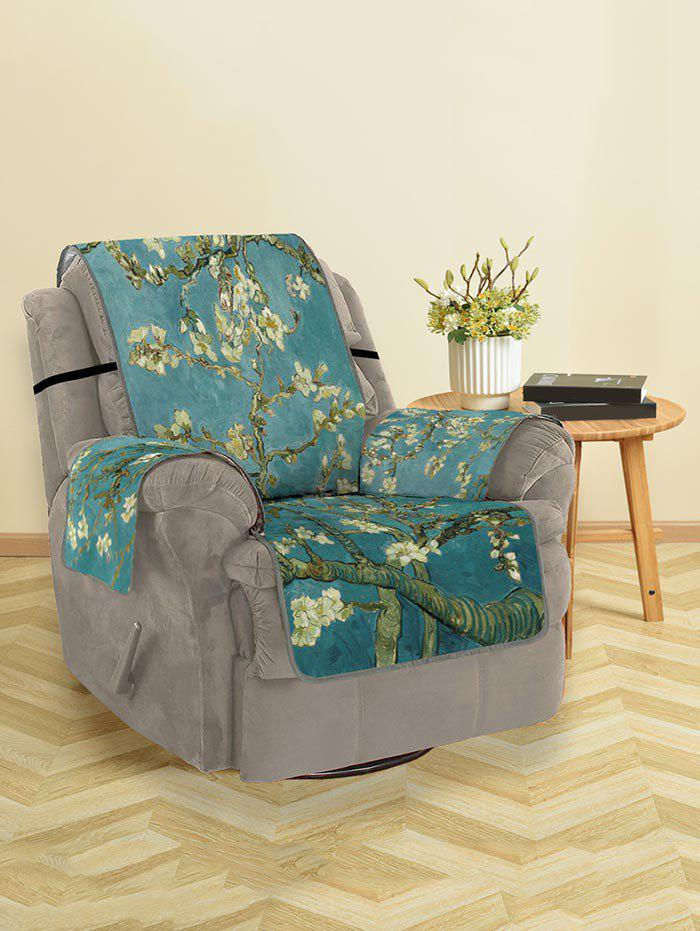 Affordable Flower Tree Print Couch Cover