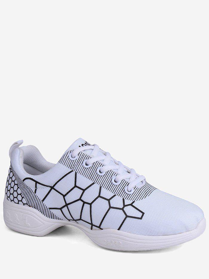 Hot Lace Up Net Pattern Sports Shoes