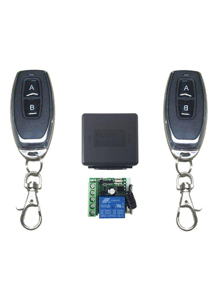 Cheap 2 Pcs RF Universal Wireless Remote Switch Control and Relay Receiver Module