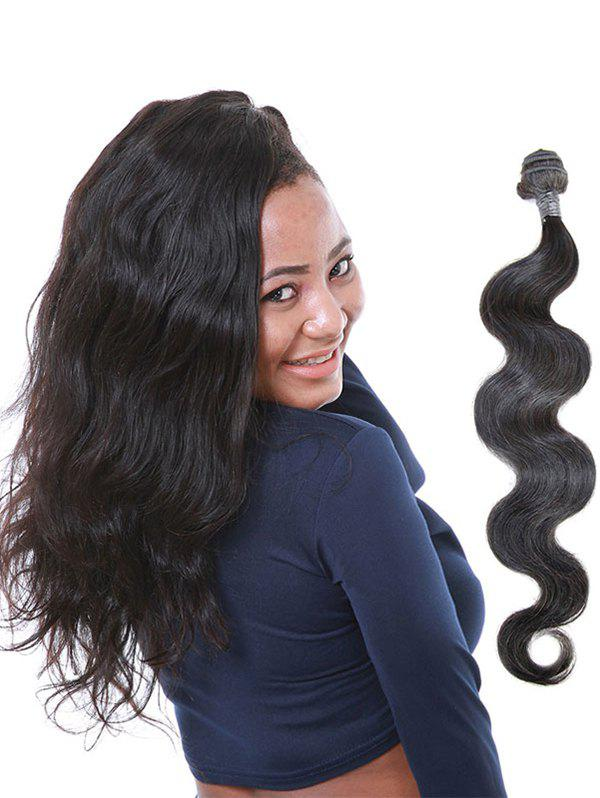 Shop 1Pcs Brazilian Virgin Human Hair Body Wave Hair Weave