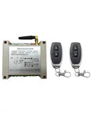 2 Channel Receiver Controller and 2 PcsWireless Remote Switch Control -