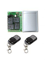 2 Pcs Wireless Remote Switch Control and Universal Relay Receiver Module -