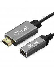 HDMI to Mini Display Port Converter Adapter Cable -