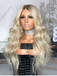 Middle Part Long Gradient Body Wave Synthetic Wig -