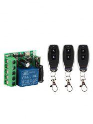 2 Pcs 433Mhz RF Remote Control and 2 Channel Receiver Module -
