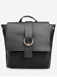 Frosting Leather Cover Backpack -