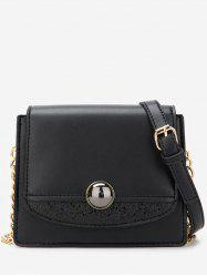 Leather Small Chain Shoulder Bag -