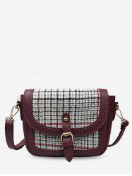 Joint Leather Small Shoulder Bag -